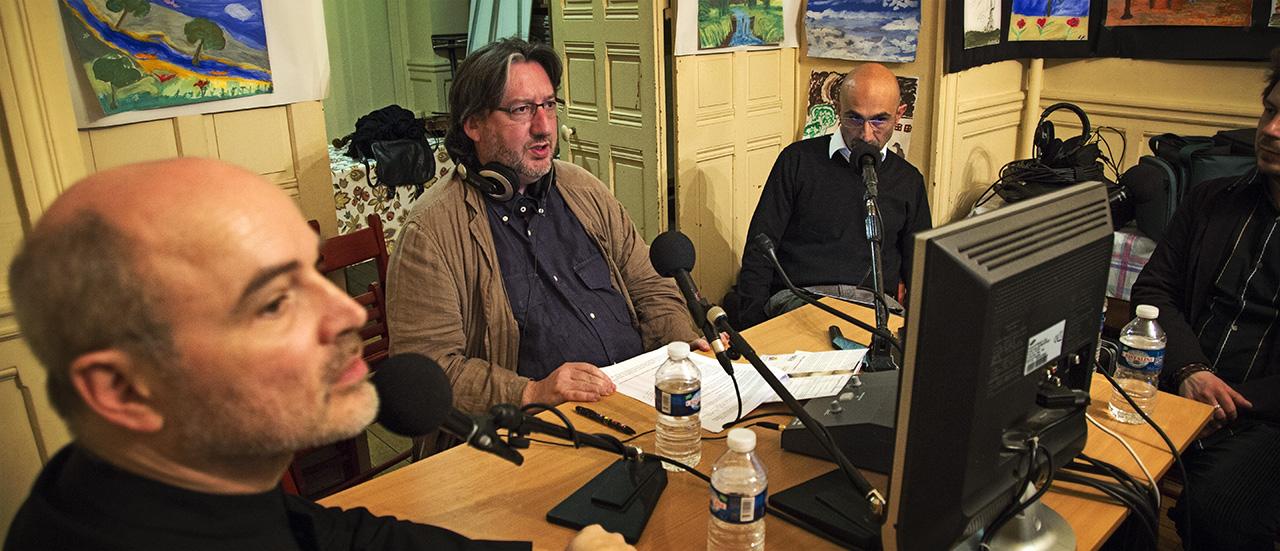Alle guerre d'amore - Intervista a Radio France – 12 maggio 2014 • PARIGI